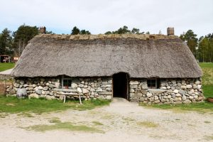 Cottage, Highland Folk Museum