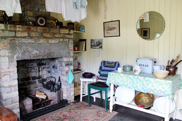 Cottage Inside, Highland Folk Museum