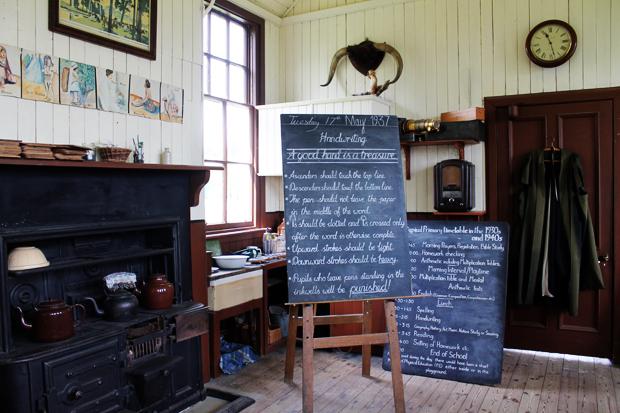 Old School House Inside 2, Highland Folk Museum