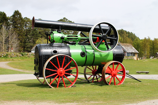 Steam Engine, Highland Folk Museum