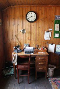 Office, Steam Engine, Highland Folk Museum