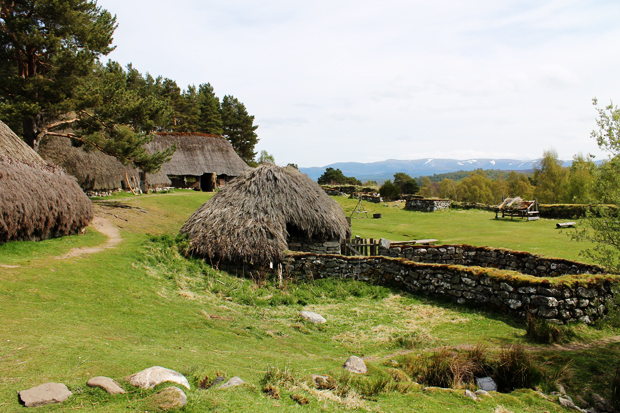Outlander Village, Highland Folk Museum