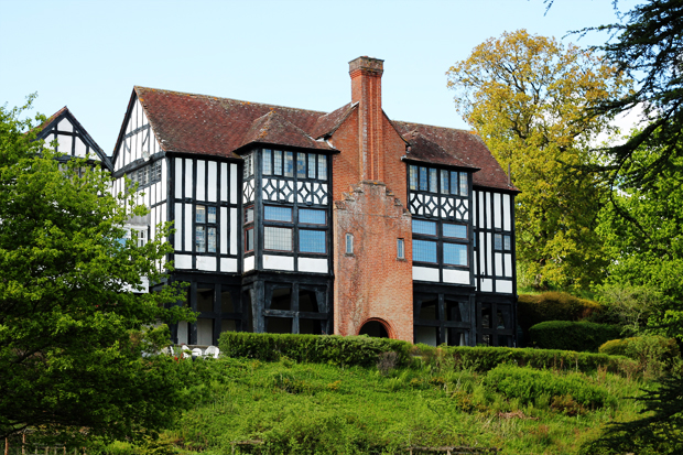 Caer Beris Manor Exterior, Builth Wells, Wales