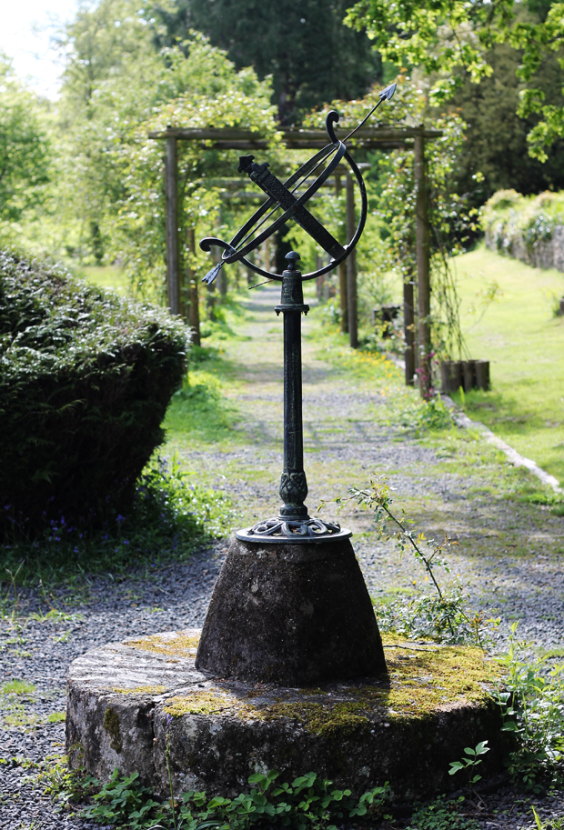 Sundial, Caer Beris Manor, Builth Wells, Wales