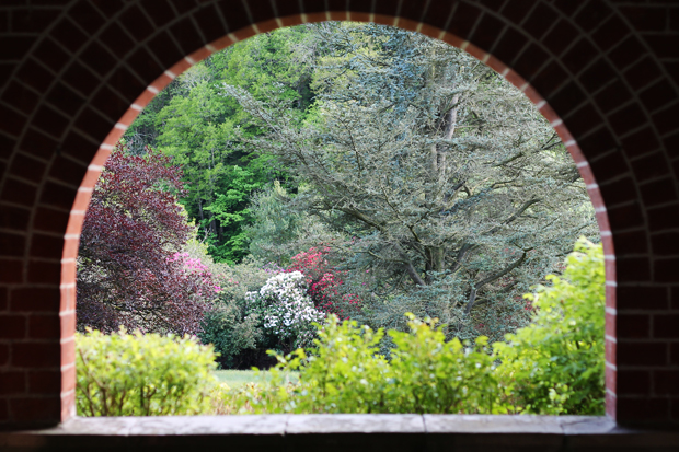 Arch, Caer Beris Manor, Builth Wells, Wales