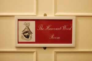 The Harcourt-Wood Room Entrance, Caer Beris Manor, Builth Wells, Wales