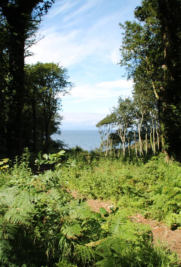 Coastal Views, Culzean Country Park, Ayrshire, Scotland