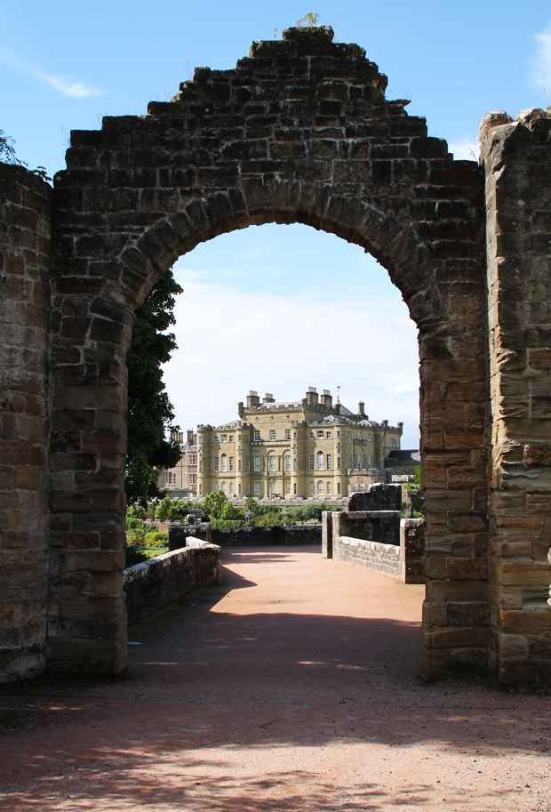 Culzean Castle through Ruins, Ayrshire, Scotland
