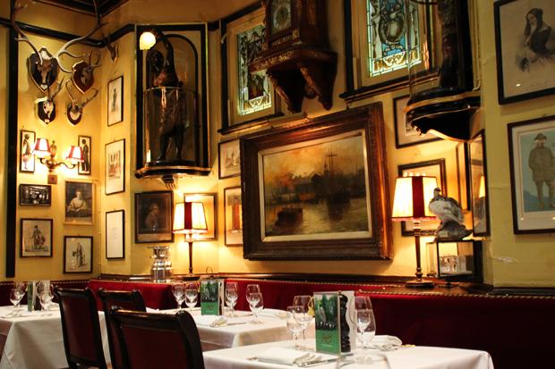 Rules Restaurant, Covent Garden, London Interior 2