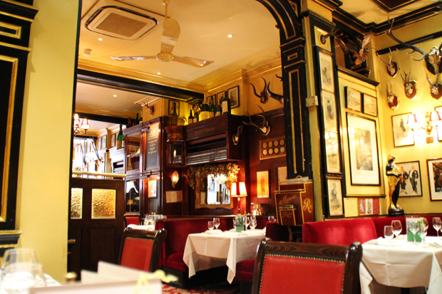 Rules Restaurant, Covent Garden, London Interior